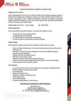 thumbnail of Fiche de poste_Stagiaire Relations Extérieures_Presse