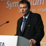 5th FIFA Women's Football Symposium, Frankfurt. FIFA Director of the Member Associations and Development Division Thierry Regenass (SUI)