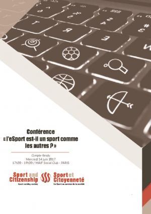 thumbnail of Compte-Rendu Conférence eSport