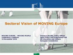 thumbnail of Session 1 Florence Mondin – European Commission – Sectoral Vision of MOVING Europe – Ljubljana – Final