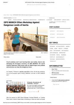 thumbnail of EN_ISPO MUNICH Offers Workshop Against Dangerous Levels of Inertia