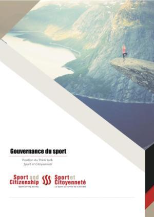 thumbnail of Position – Gouvernance du sport – Think tank Sport et Citoyenneté