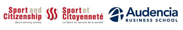 logo Audencia business School et Sport et Citoyenneté