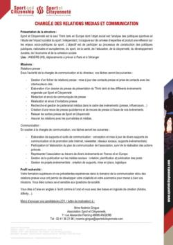 thumbnail of Fiche de poste_Relations Presse_Communication