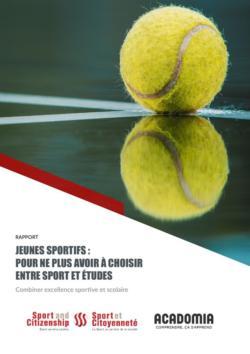 thumbnail of Rapport_jeunes sportifs_pour ne plus avoir à choisir entre sport et études