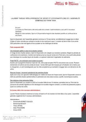 thumbnail of 20210322_CP_Assemblée Générale Sport et Citoyenneté Un bureau réélu et un Think tank qui se structure