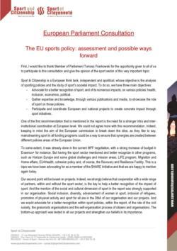 thumbnail of SC_EuropeanParliamentConsultation_Sport Policy